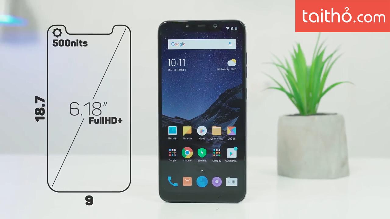 Đánh giá chi tiết Xiaomi Pocophone F1 - Ảnh 6