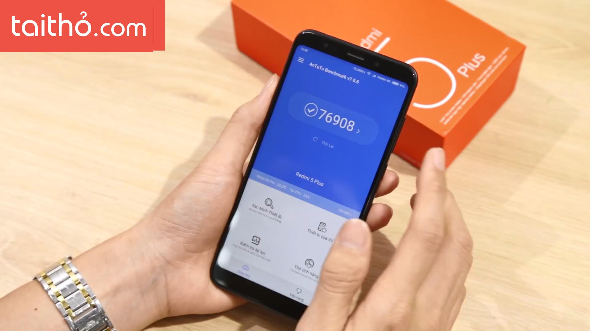 Đánh giá chi tiết Xiaomi Redmi 5 Plus - Ảnh 6