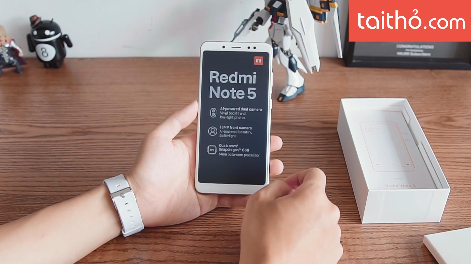 Đánh giá chi tiết Xiaomi Redmi Note 5 - Ảnh 1