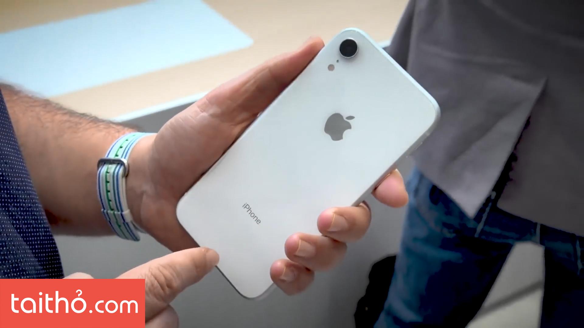 Đánh giá chi tiết iPhone XR - Ảnh 3