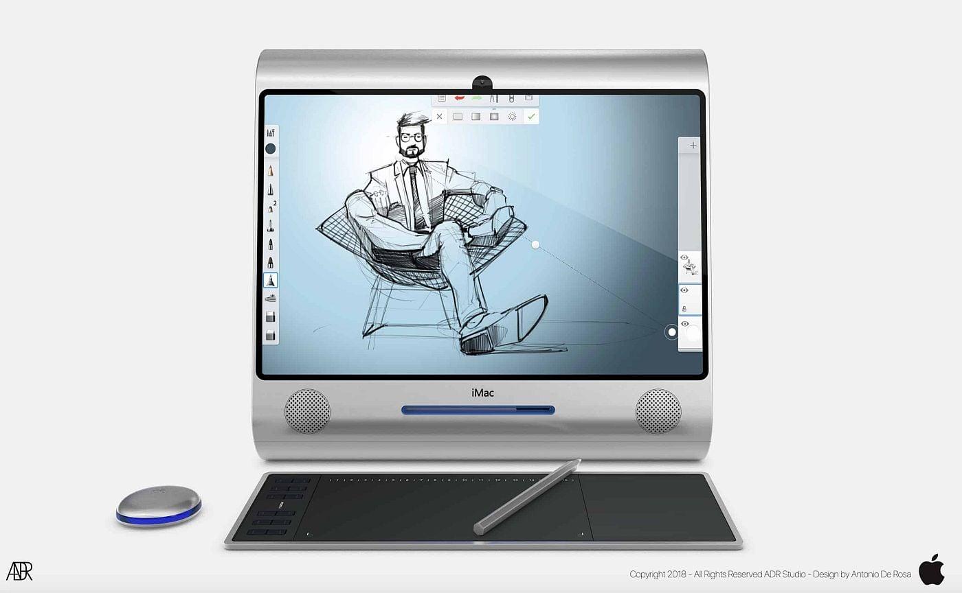 Apple iMac G3 được thiết kế lại bởi nhà thiết kế Antonio de Rosa - Ảnh 5