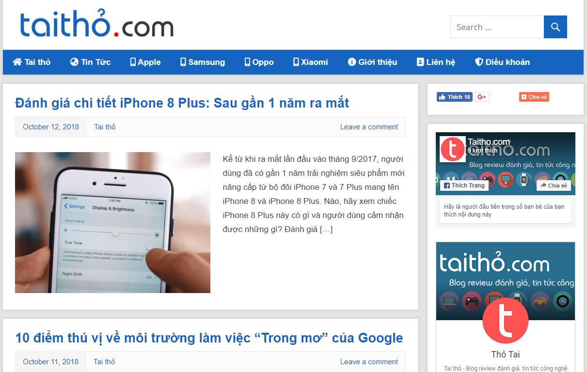 Tai thỏ - Blog Review đánh giá, tin tức công nghệ
