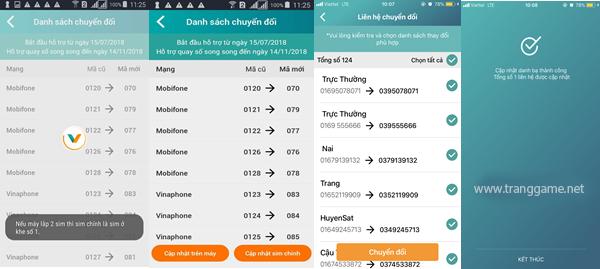 Cách chuyển đổi danh bạ từ sim 11 số sang 10 số Viettel đơn giản thông qua ứng dụng My Viettel