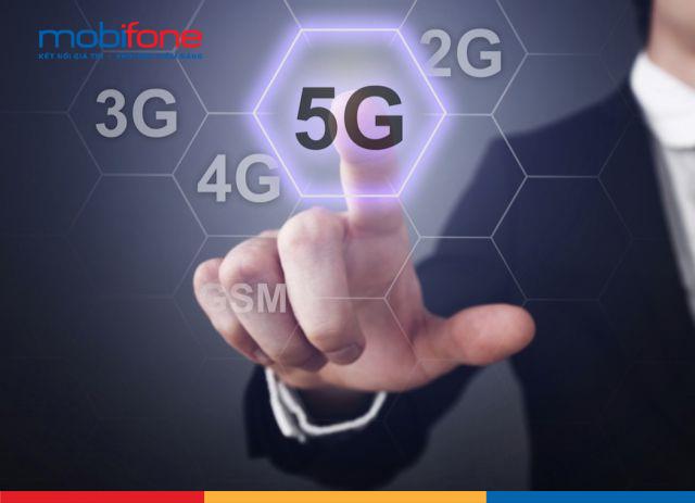 Vào năm 2019 nhà mạng Mobifone cho triển khai thử nghiệm mạng 5g trên toàn quốc
