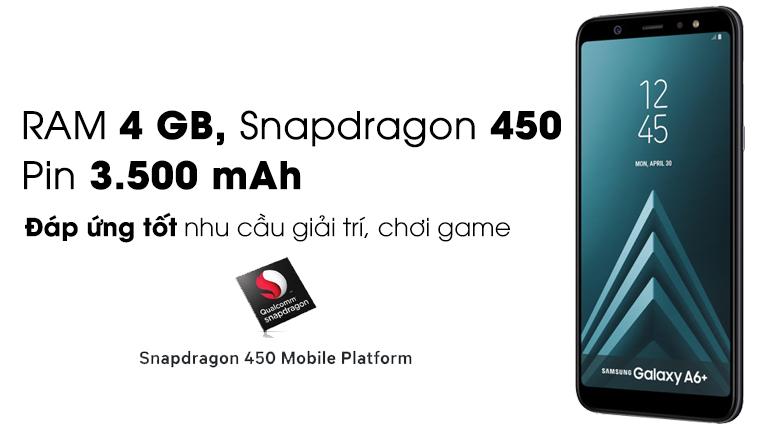 Cấu hình Samsung A6+ 2018