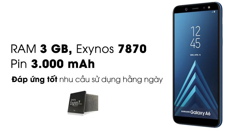 Cấu hình Samsung Galaxy A6 2018