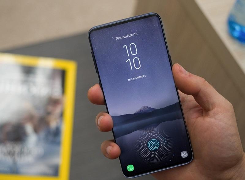 Nhận diện dấu vân tay dưới màn hình Samsung Galaxy S10