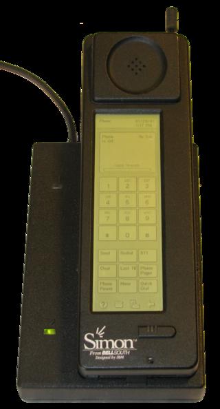Điện thoại thông minh IBM Simon sản xuất năm 1994