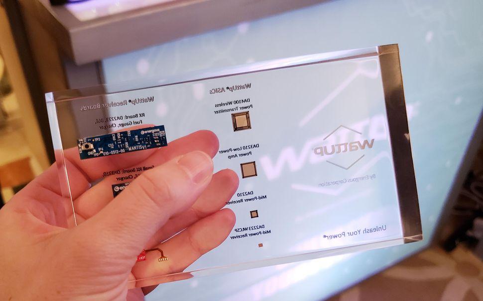 Dòng chip được sử dụng cho công nghệ sạc của Wattup
