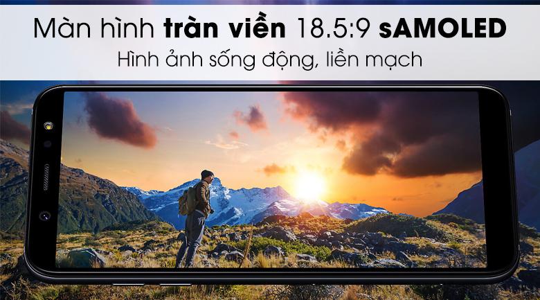 Màn hình tràn viền Samsung Galaxy A6+ 2018
