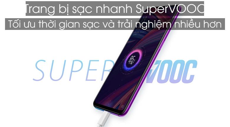 Oppo trang bị công nghệ sạc nhanh Super VOOC trên R17 Pro