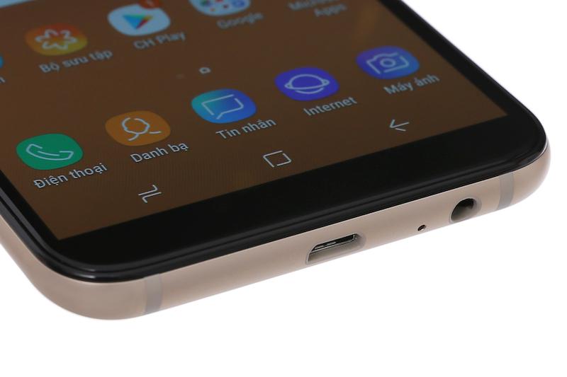 Viền dưới Samsung Galaxy A6 2018