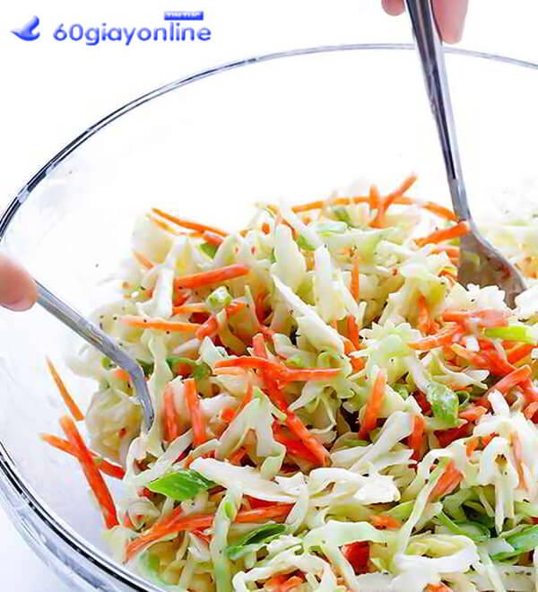 bước 4 cách làm salad sữa chua