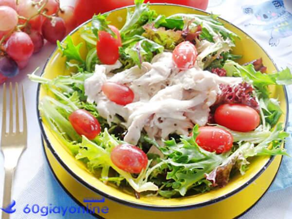 salad sữa chua