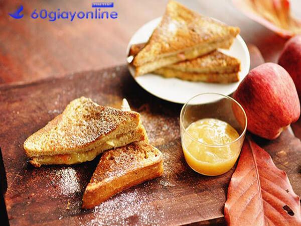 cách làm bánh mì sandwich sữa chua