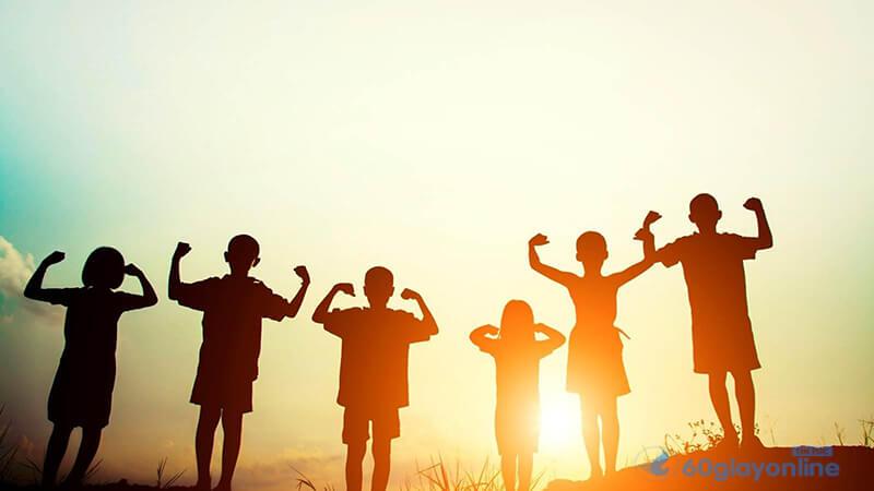 Bạn bè chính là nguồn động viên của mình