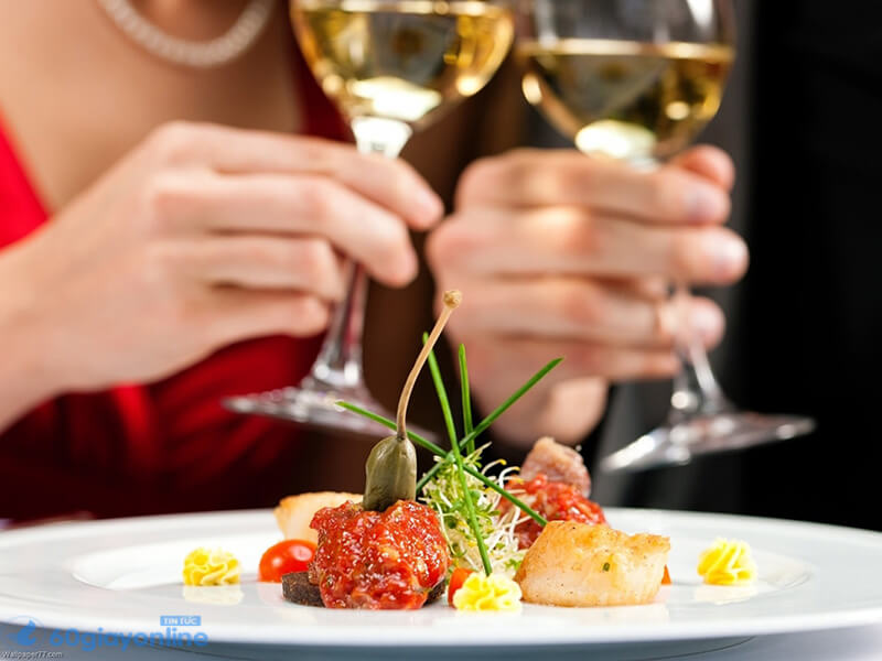 """Một bữa tối lãng mạn luôn khiến đàn ông """"ngã gục"""""""