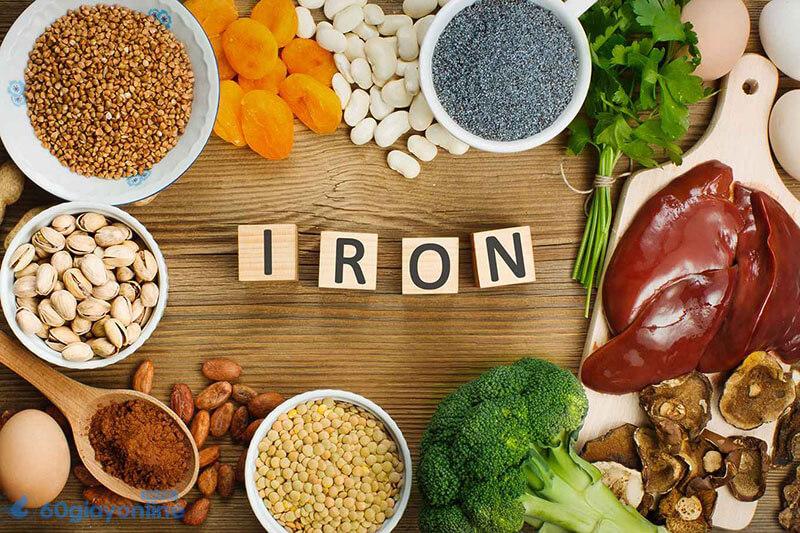 Ăn quá nhiều chất sắt khiến cho trực tràng bị quá tải