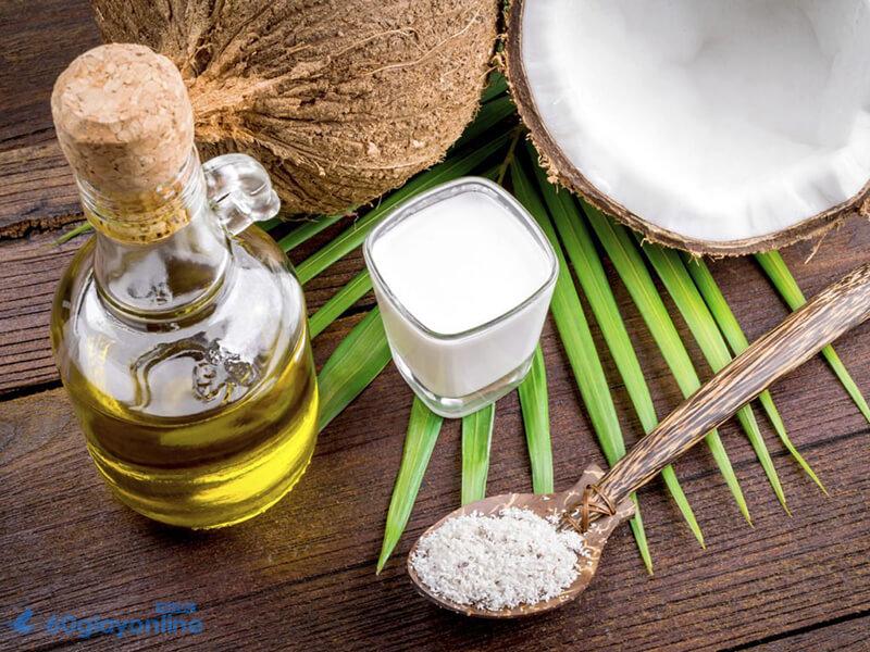 Dầu dừa có chứaaxit lauric béo