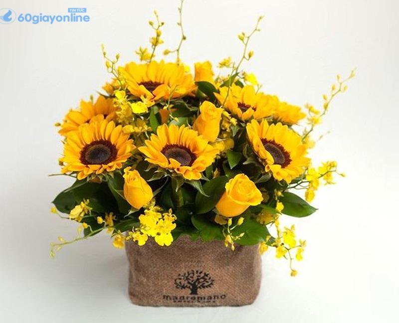 hoa tặng bố