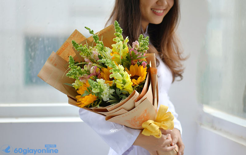 hoa tặng bạn trai
