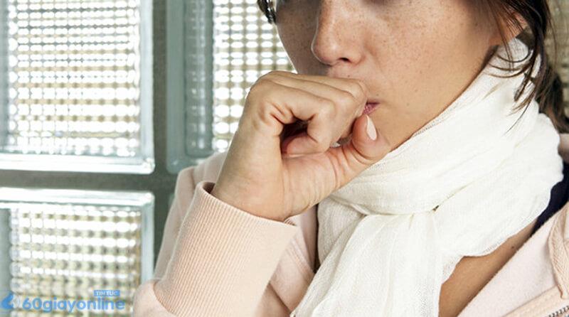 Nhiệt độ thay đổi cũng là nguyên nhân gây bệnh ho khan
