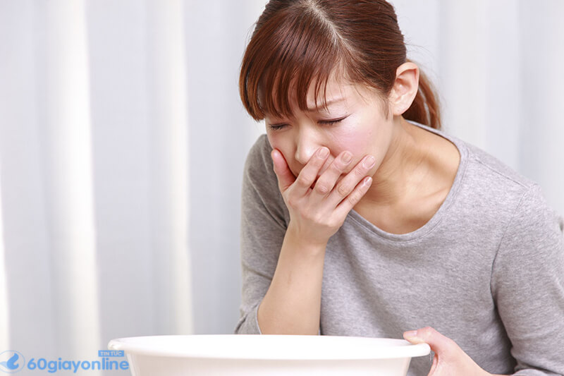 Buồn nôn báo hiệu dạ dày hoạt động không tốt