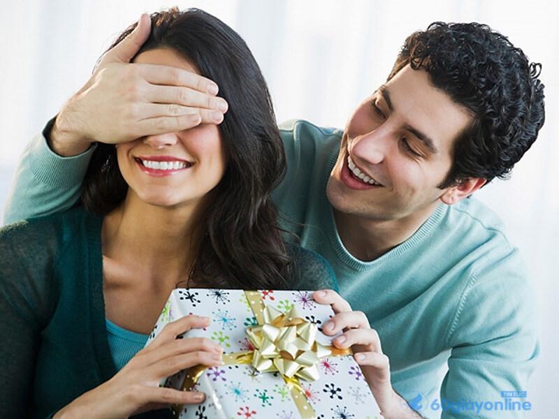 Quà tặng là cách thể hiện tình cảm phổ biến nhất