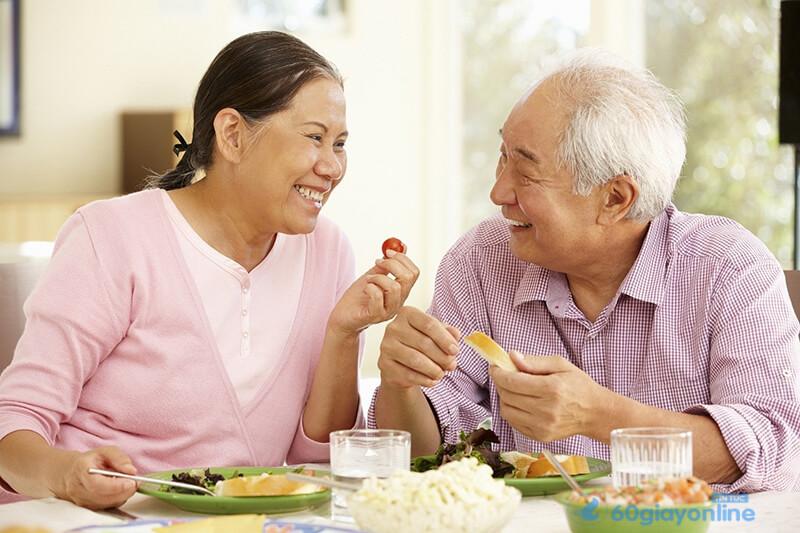 Thức ăn dinh dưỡng là món quà rất thiết thực