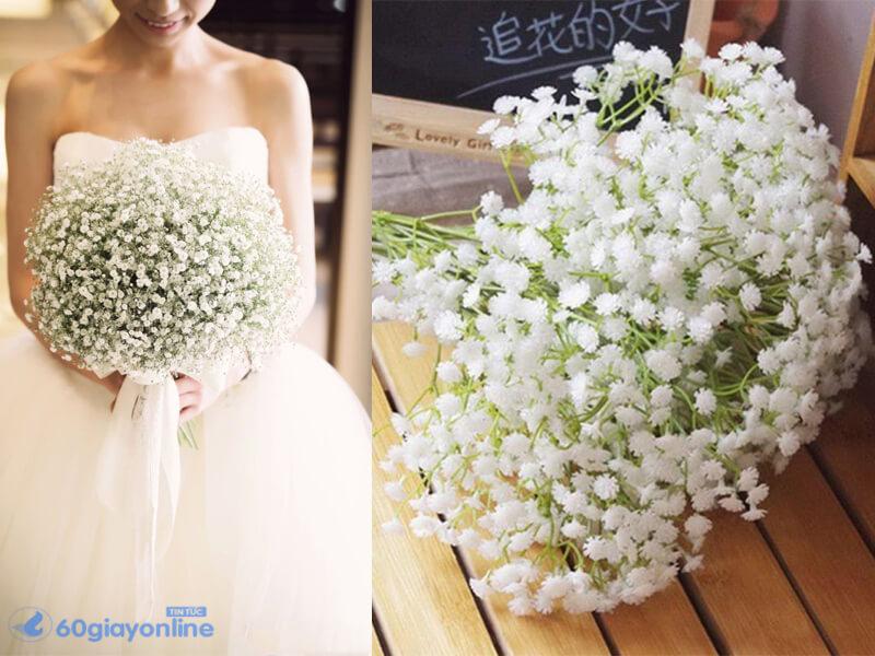 Hoa baby trắng luôn là lựa chọn hàng đầu trong lễ cưới