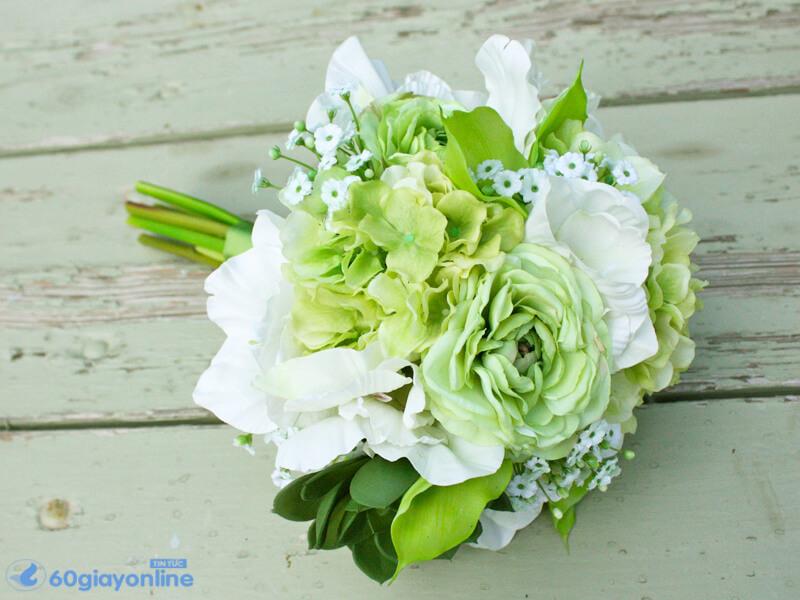 Hoa cẩm tú cầu tượng trưng cho tình yêu chân thành