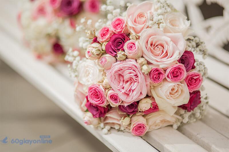 Hoa hồng thể hiện 1 tình yêu nồng cháy