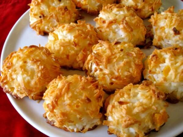 Bánh dừa nướng,