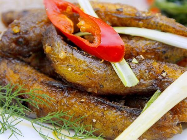 Cá bống sông Trà, đặc sản Quảng Ngãi