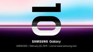 Samsung xác nhận sẽ ra mắt Galaxy S10 vào ngày 20 tháng 2 tại San Francisco