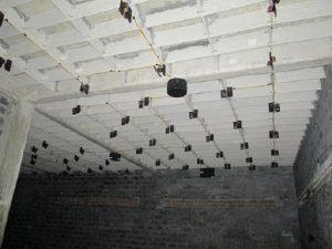 Hệ thống loa hoàn thiện bên trong nhà yến